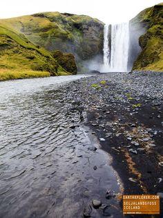 The Beautiful Seljalandsfoss Waterfall - Iceland