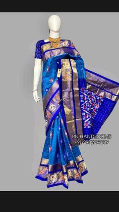 Ikkat Silk Sarees, Bollywood Saree, Pink Saree, Half Saree, Saree Wedding, Party Dress, Prom Dresses, Disney Princess, Fashion