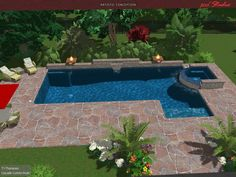 Custom Pools By Design pools by design patio designs tucson custom swimming pools builders tucson Custom Pool Custom Pool