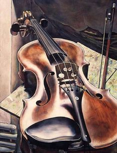 Michael Taylor Violin 1993 x 71 cm) Music Painting, Music Artwork, Art Music, Violin Art, Violin Music, Musik Illustration, Music Wallpaper, Music Images, Music Lessons