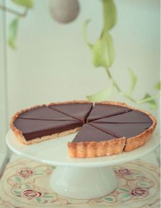 Easy chocolate tart Thermomix - My CMS Dessert Thermomix, Thermomix Bread, Cheesecake Recipes, Dessert Recipes, Bread Cake, Food Cakes, Food Truck, Sweet Recipes, Food And Drink