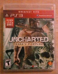PS3 UNCHARTED SERIES  (Drakes Fortune/Among Thieves/Drakes Deception)