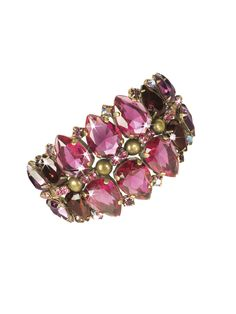 Cosmopolitan Cuff Bracelet in Pink Orchid - Sorrelli -i have the earrings to this :)) #VdayPresent2013*