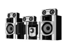 Enjoy complete audio entertainment experience with Sony all-in-one, hi-fi party speakers with DVD & Bluetooth® technology. Get powerful sound & stylish speaker design with Sony party speakers. Hifi Music System, Audio System, Party Speakers, Home Speakers, Mini System, Sony, Home Theater Speaker System, Home Theatre Sound
