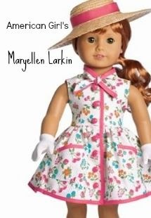 Maryellen Larkin American Girl 1954 This better be my October BD present as I am that decade! Ropa American Girl, American Girl Dress, American Girl Crafts, American Doll Clothes, Sewing Doll Clothes, Girl Doll Clothes, Doll Clothes Patterns, Girl Dolls, Ag Dolls
