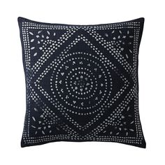 Our Camille Pillow Cover is a batik-inspired nod to traditional Hmong fabrics. #serenaandlily #design