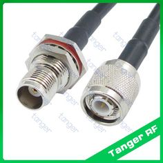 Hot Selling Tanger TNC female jack to TNC male plug straight RF RG58 Pigtail Jumper Coaxial Cable 40inch 100cm and High Quality #Affiliate