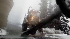 Διαδρομές στο χιόνι...