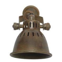 Brass Vintage Style Single Spotlight – Allissias Attic & Vintage French Style