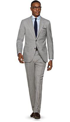 Suit Grey Plain Lazio P5294 | Suitsupply Online Store