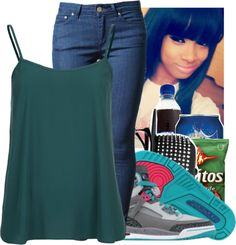 """""""out side maybe at the park"""" by mizzrocroyal12336 ❤ liked on Polyvore"""