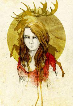 Myrcella Baratheon by elia-illustration.deviantart.com on @DeviantArt