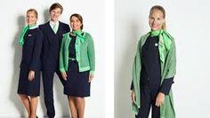 Wat is het nieuwe uniform van transavia toch mooi.