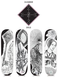 sKateboard designs by MxM