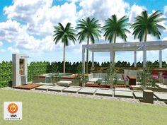 Piletas de estilo moderno por ION arquitectura SAS Cali Colombia, Pergola, Exterior, Outdoor Structures, Pools, Design Ideas, Interior Design, Cities, Pictures