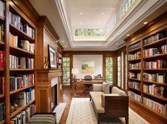 En güzel ev kütüphaneleri 3