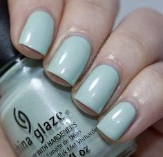 China Glaze Keep Calm, Paint On (2) by Samarium's Swatches, via Flickr