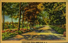 postcard - Greetings from Abbeville SC by Jassy-50, via Flickr