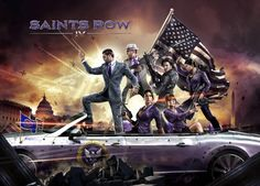 Saints Row IV officially announced for August – debut trailer and screenshots