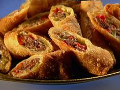 474 best guy fieri recipes images on pinterest guy fieri cooking philly cheese steak egg rolls forumfinder Choice Image