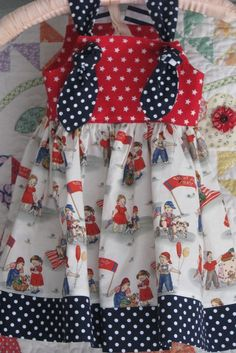 sweet 4th of July dress