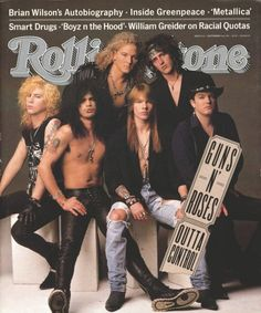 Guns 'n Roses ('91) I know. Everyone likes the original lineup but Ill take this one.