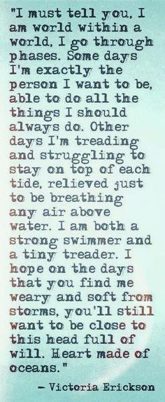 I hope. [Victoria Er