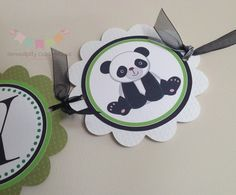 Panda Its A Boy Banner Baby Shower Banner by SerendipityPartyShop, $25.00