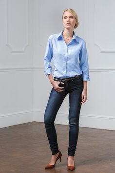 Parisian Chic - KK361 Workwear Oxford Shirt