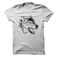 the head of a wolf T-Shirt Hoodie Sweatshirts ooa