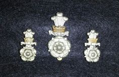 Yorkshire Hussars cap and collar badges