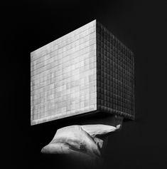 Photographic Print: Tête Carrée, 2017 by Erik Brede : Find Art, Buy Art, Framed Artwork, Wall Art, Office Art, Conceptual Art, Art Boards, Photo Art, Contemporary Art