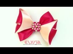 Easy But Awesome Ribbon Bow Tutorial | DIY by Elysia Handmade - YouTube