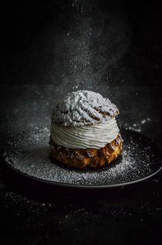 A french classic : choux à la crème. Hand poached and oven raised choux pastry filled with fresh whip cream (full cream with icing sugar and vanilla beans). Vanilla Beans, Work Meals, French Classic, Choux Pastry, Whipped Cream, Creme, Icing, Food Photography, Oven