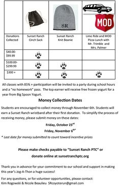 Walk A Thon Pledge Form  School Ideas    Leadership