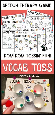 $Fun Vocabulary/Language activity for speech therapy!