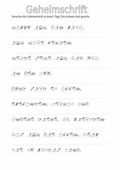 Ein Detektiv-Rätsel mit Bilderalphabet für die LRS-Therapie. Das Spiel besteht aus einem rätselhaften Brief, der mit Hilfe der Anlaut-Geheimschrift entschl - zu LRS. Auf madoo.net für deine logopädische Therapie.