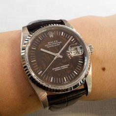 ref.1601#datejust Vintage Rolex, Rolex Datejust, Omega Watch, Men's Fashion, Watches, Instagram Posts, Accessories, Moda Masculina, Fashion For Men