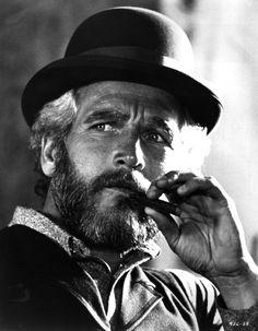 """Paul Newman en """"El Juez de la Horca"""" (The Life and Times of Judge Roy Bean), 1972"""