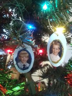 Ornaments of My Sons from 1998 — Connie Myres