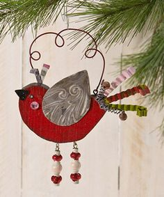 Love this Red Bird Ornament by Enesco on #zulily! #zulilyfinds