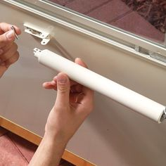How to adjust a storm door so it closes perfectly. by simply turning a screw, you can fix the door so it won't slam shut or be hard to pull closed. if you can use a screwdriver, you can fix this problem. Storm Door Closer, Screen Door Closer, Storm Doors, Sliding Screen Door Repair, The Family Handyman, Home Fix, Home Repairs, Do It Yourself Home, Diy Home Improvement
