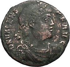 VALENS Last True Roman w labarum 364AD Ancient Roman Coin Christ monog i56120 https://trustedmedievalcoins.wordpress.com/2016/06/06/valens-last-true-roman-w-labarum-364ad-ancient-roman-coin-christ-monog-i56120/