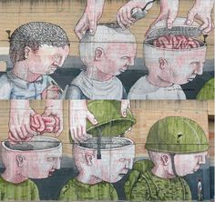 Esercito Blu street art