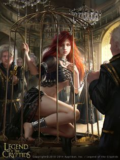 Legend of the Cryptids - Caged Demon Fiorentina by anotherwanderer on DeviantArt