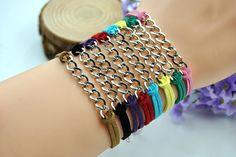 Fashion cuff braceletsilvery alloy by HandmadeTribe on Etsy, $1.50