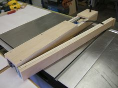 Building a taper jig for your table saw can be a very handy jig around the shop. This video details how to build a taper jig.