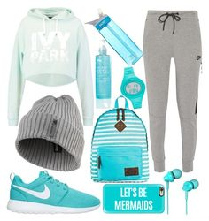 """""""ABbz Set #96"""" by andy-barbz on Polyvore featuring Dickies, Ivy Park, NIKE, Casetify, CamelBak, Reebok and adidas"""