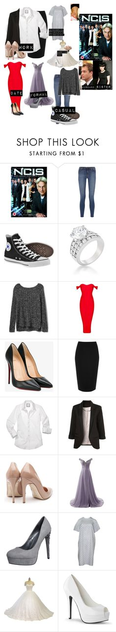 """""""me in: 'NCIS'"""" by j-j-fandoms ❤ liked on Polyvore featuring Ziva, J Brand, Converse, Gap, Christian Louboutin, River Island, Rupert Sanderson and even&odd"""