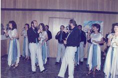 הופעה במסיבת איחוד המועצות והקמת מועצה איזורית מטה אשר 1982